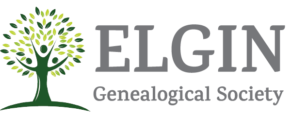 Elgin Genealogical Society Logo